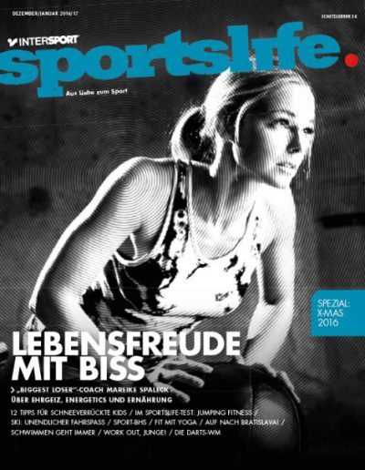 Cover INTERSPORT Sportslife Mareike Spaleck